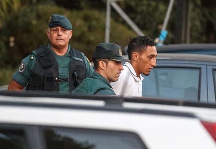 Driss Oukabir fue detenido en Ripoll y actualmente permanece en prisión. (Foto: La Vanguardia)
