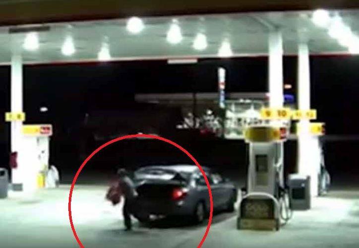 Wyatt fue detenido el martes mientras dormía en su vehículo. (Foto: Captura del video)