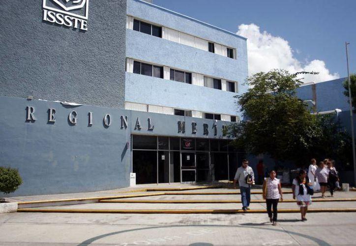 "Hospital Regional ""Elvia Carrillo Puerto"" del Issste.(Foto: Milenio Novedades)"