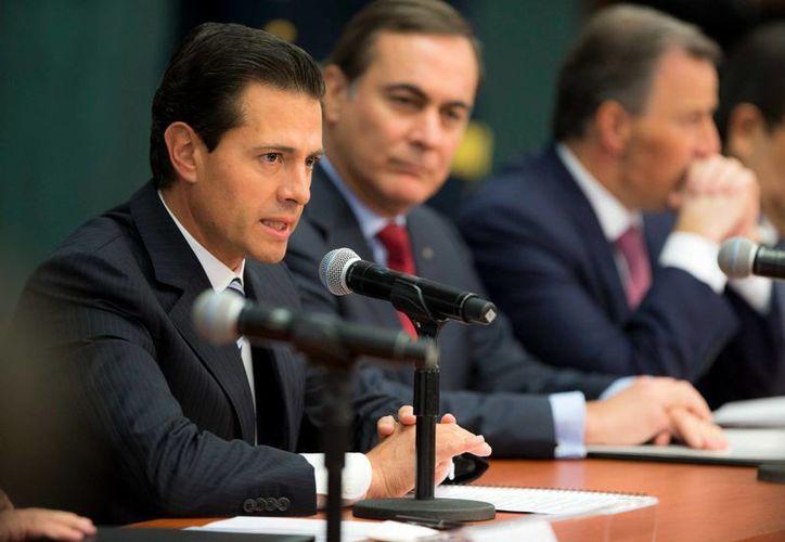 Peña Nieto asegura que el nuevo gobierno de Estados Unidos representa un reto. (Presidencia)