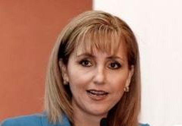 La secretaria de Turismo federal, Gloria Guevara Manzo, estuvo presente en la presentación del programa. (Milenio)