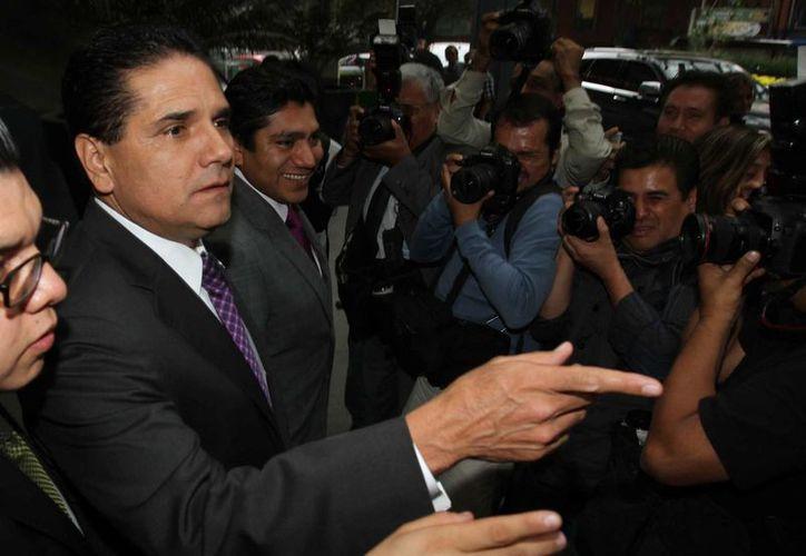Silvano Aureoles, del PRD, dijo que las minutas de las leyes secundarias en competencia económica y  en materia electoral.  (Notimex)