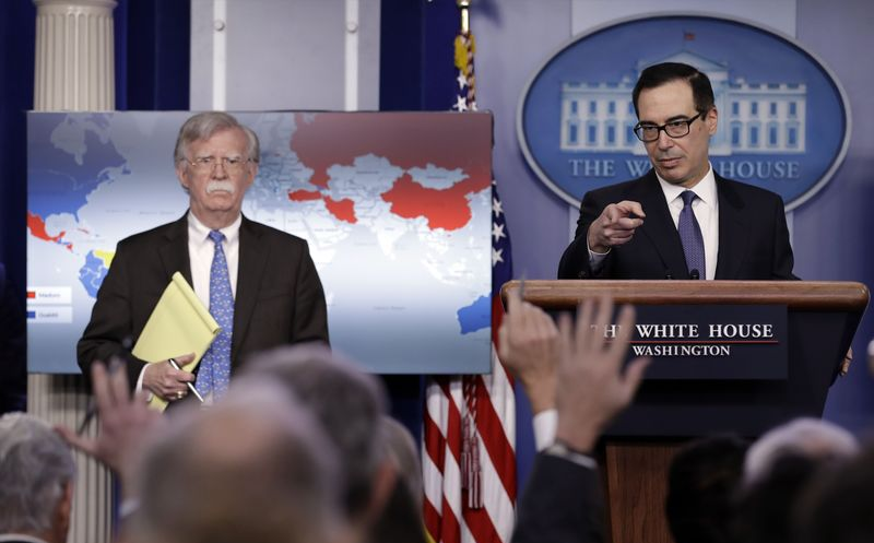 Estados Unidos amenazó a Nicolás Maduro con encerrarlo en Guantánamo