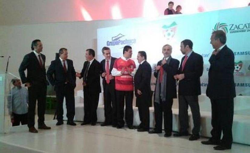 Grupo Pachuca anunció el cambio de sede de Estudiantes Tecos, que ahora serán Mineros y jugarán en Zacatecas. (Milenio)