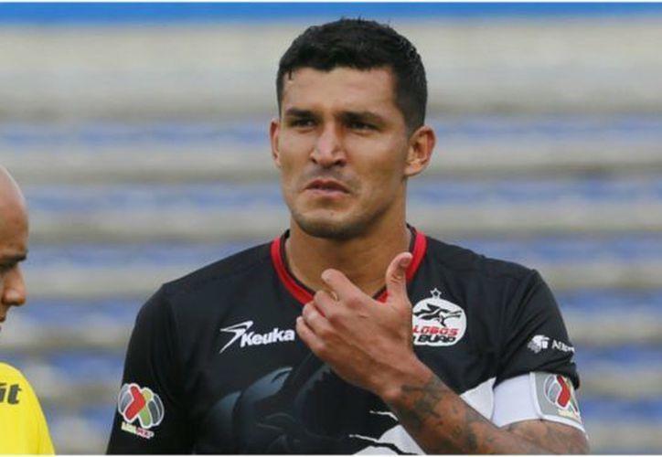 El defensa Francisco Javier Rodríguez se perderá los siguientes dos partidos con Lobos BUAP, tras suspensión. (Contexto/ Internet)