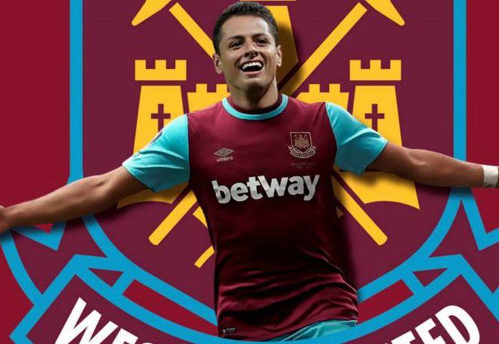 Hernández será presentado oficialmente como nuevo jugador del West Ham este lunes en Londres.. (Foto: Contexto/Internet)