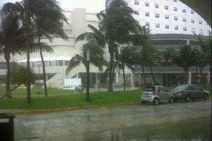 Las inundaciones en imágenes en Cancún y Playa del Carmen