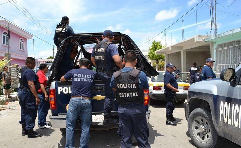 Las autoridades implemetaron un operativo para dar con los ladrones. (Redacción/SIPSE)