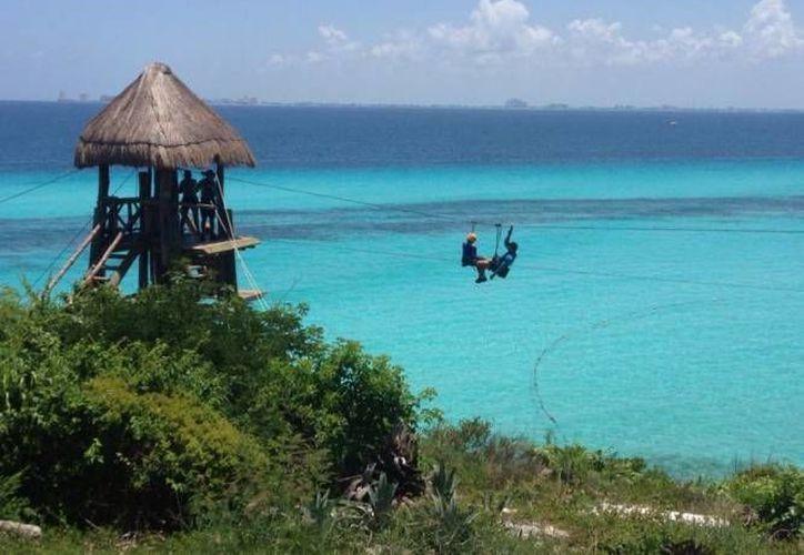 El Parque Garrafón, ubicado en Isla Mujeres, ha presentado un incremento en el precio de entrada. (Redacción/SIPSE)