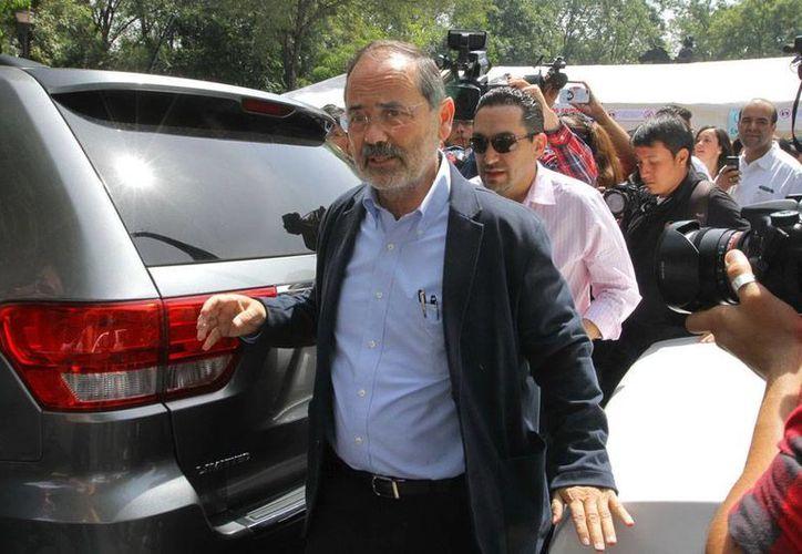 Gustavo Madero, presidente nacional de PAN, admite que su partido le apuesta a tener una presencia legislativa suficiente para que el Gobierno tenga que negociar con el PAN y no pretenda imponer una mayoría. (Archivo/NTX)
