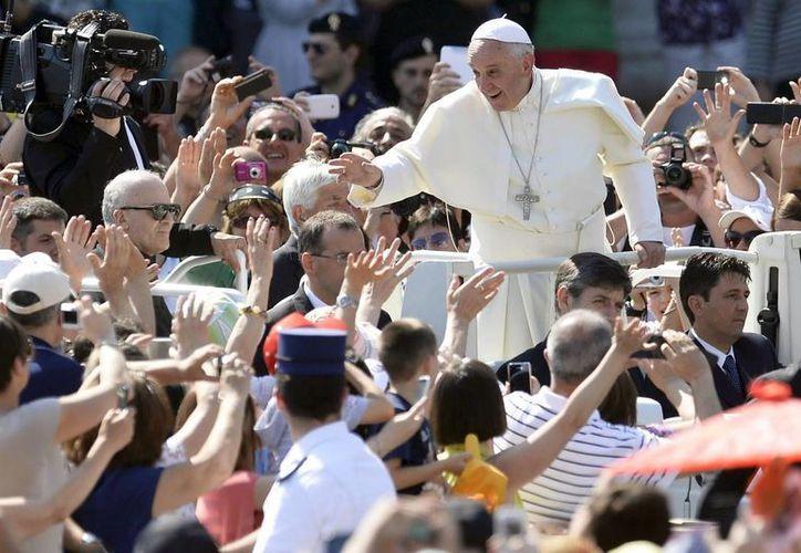 El Papa Francisco recordó a los fieles que vengarse no es cristiano. (EFE/Contexto)