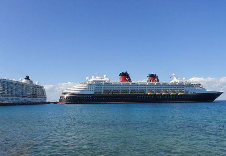 Con la llegada de cruceros se espera una derrama económica cercana a los seis millones de dólares en beneficio de este destino turístico. (Cortesía/SIPSE)