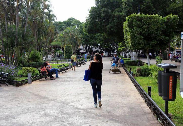 A pesar de las lluvias, el calor se mantiene en Yucatán. (Mauricio Palos/SIPSE)
