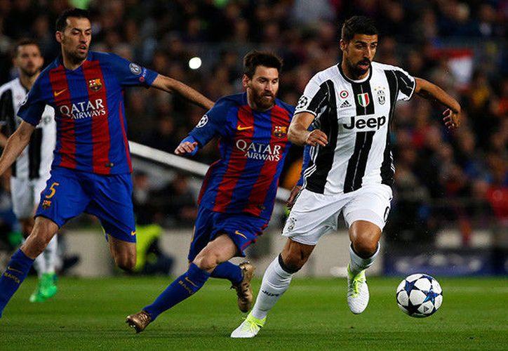 Esta eliminación es el adiós europeo del Barça y también el último partido de Luis Enrique como técnico de los azulgranas en Europa. (AFP).