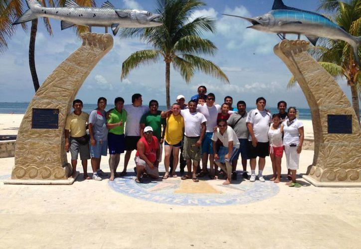 El evento se realizó en la playa de Posada del Mar. (Lanrry Parra/SIPSE)