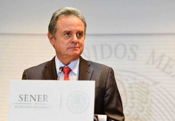 El titular de la Secretaría de Energía, Pedro Joaquín Coldwell, declaró que Pemex también podrá participar en la ronda uno. (Archivo/Notimex)