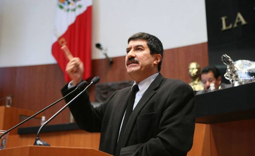 La soberbia 'nunca se le quita a uno', asegura el gobernador chihuahuense Javier Corral. (pan.senado.gob.mx)