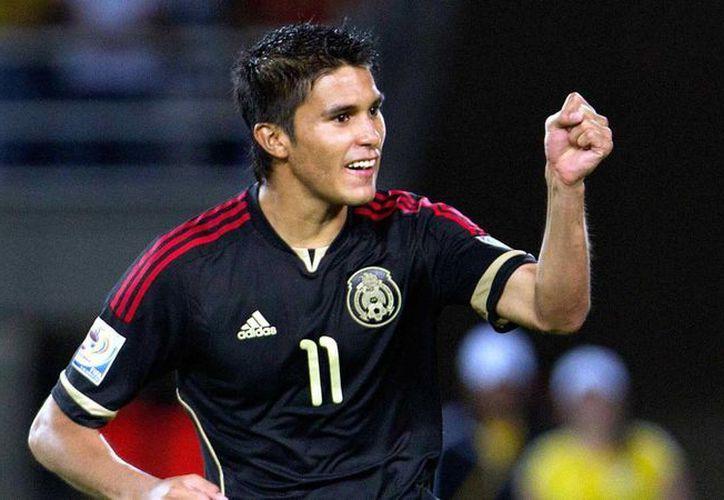 Ulises Dávila cumplió uno de sus sueños en el futbol profesional. (foxsportsla.com/Foto de archivo)