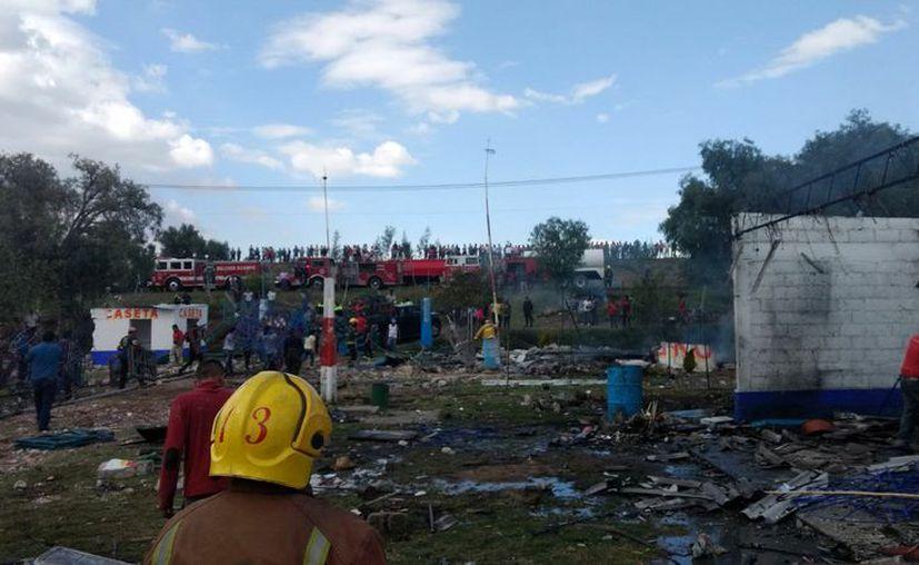 El lugar fue acordonado por elementos de la policía Municipal de la Comisión Estatal de Seguridad Ciudadana. (@alertasurbana).