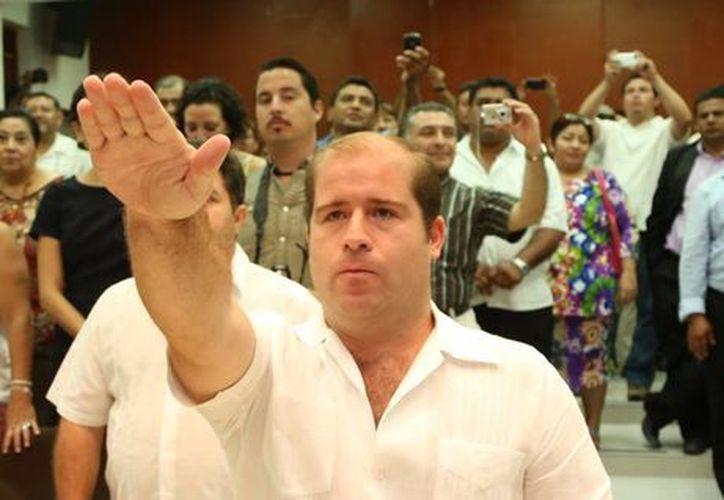 De la Peña Ruiz de Chávez rindió protesta para incorporarse de inmediato a sus funciones. (Cortesía/SIPSE)