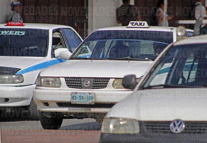"""Implementaron la plataforma """"VIP Fleet"""", con la intención de que los taxis hicieran frente a Uber. (Jesús Tijerina/SIPSE)"""