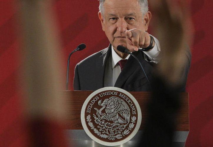 Andrés Manuel López Obrador firmará compromiso de no reelección. (Foto: Notimex/Gustavo Durán)