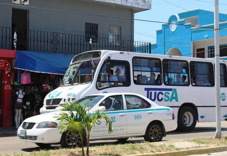 Los operadores de Tucsa y de combis de Playa del Carmen se ampararon contra pruebas antidoping. (Octavio Martínez/SIPSE)