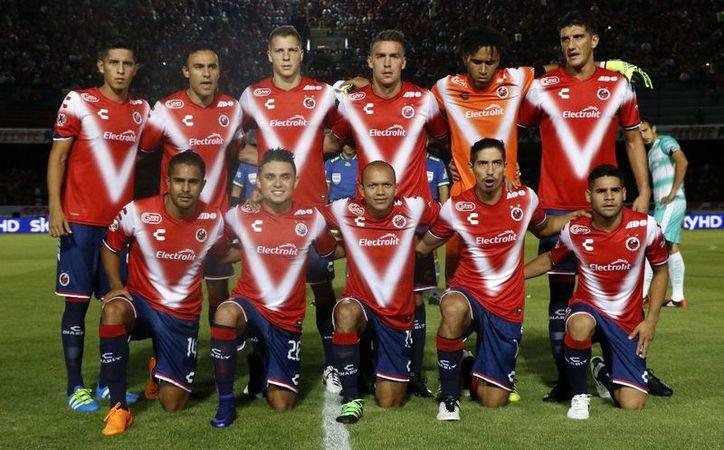 Veracruz marcha en las últimas posiciones del Apertura 2016 de la Liga MX y es penúltimo en la tabla porcentual del descenso.(Notimex)