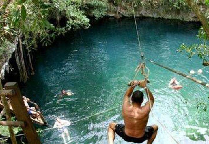 Los lugares ecoturísticos están siendo promocionados por le proyecto de estudiantes de Cancún. (Contexto/Internet)