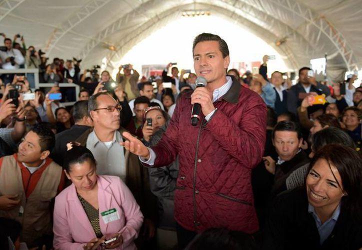 El presidente Enrique Peña no hará uso de la facultad que le permita enviar hasta dos iniciativas con carácter preferente a las cámaras, al inicio de cada periodo de sesiones. (Notimex)