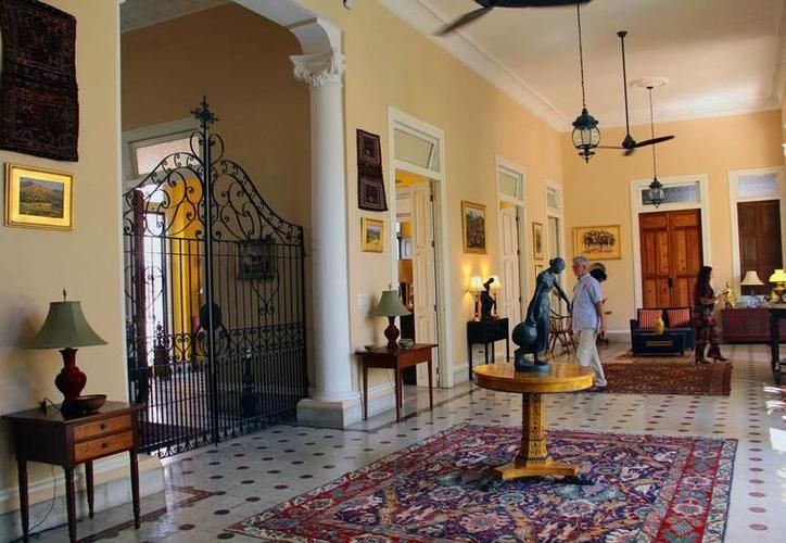 Muchos de los extranjeros que adquieren predios en el centro de Mérida los remodelan. (SIPSE)