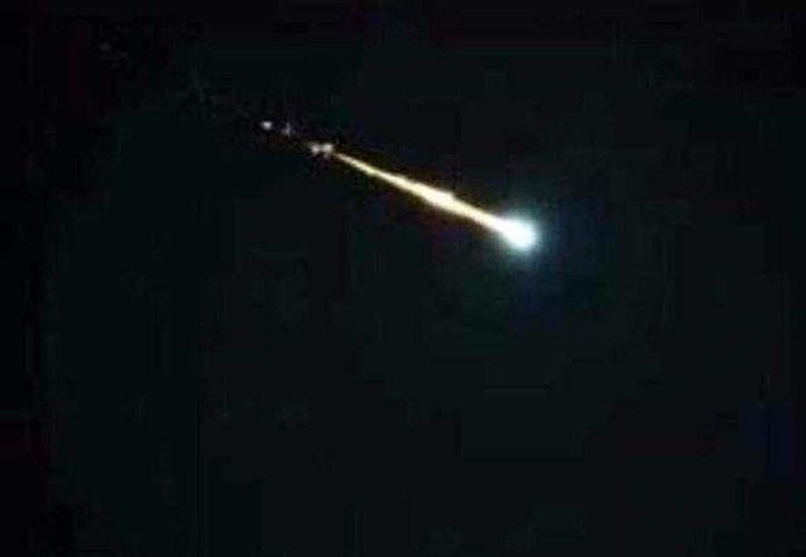 El nuevo meteorito fue visto desde San José hasta el condado de Marin, en California. (www.rpp.com)