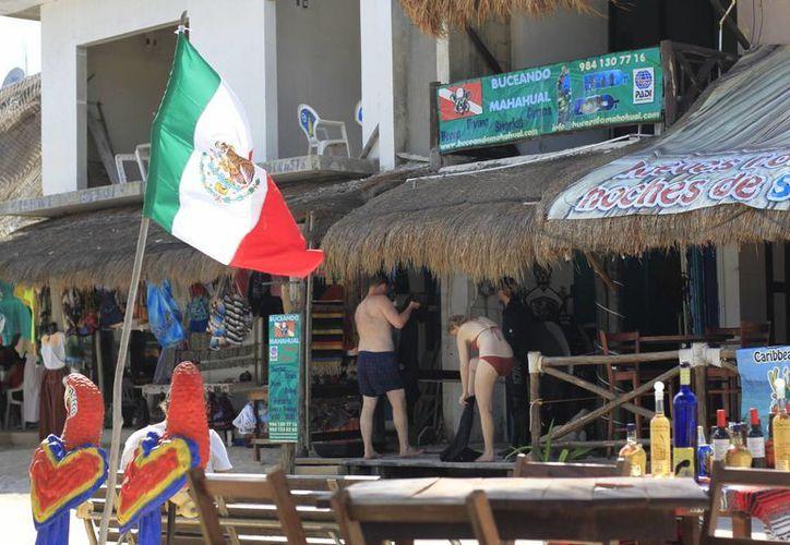 La Ruta atraerá al turismo de aventura hacía la Grand Costa Maya. (Harold Alcocer/SIPSE)