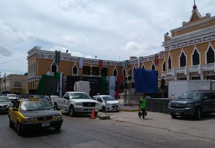 """José Antonio Meade Kuribreña se reunirá en la explanada de la """"Casa del Pueblo"""", sede estatal del PRI. (Israel Cárdenas/Milenio Novedades)"""