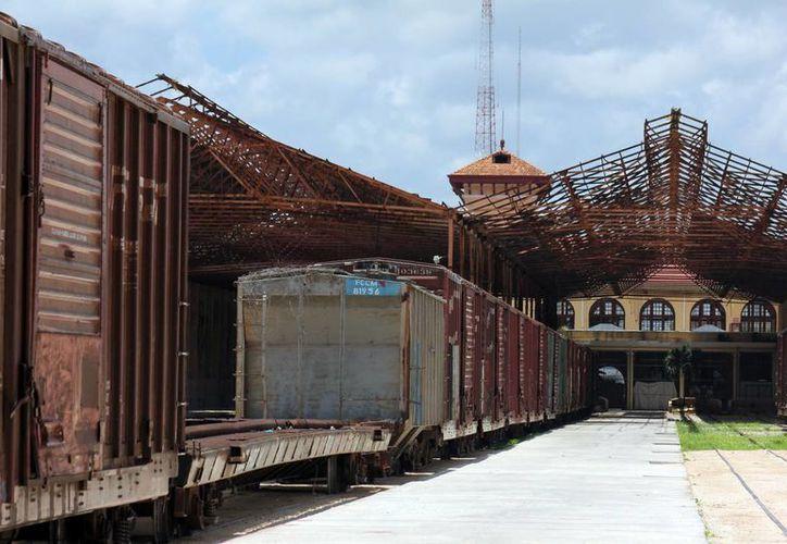 Los terrenos de La Plancha tienen todavía uso ferroviario. (Milenio Novedades)