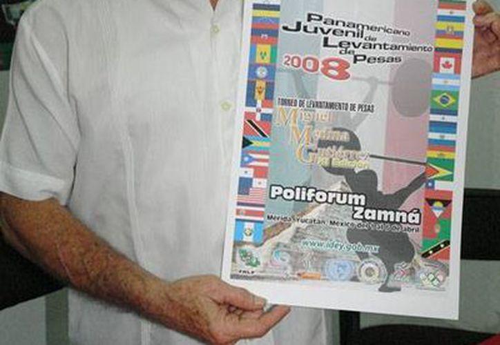 El pesista Miguel Medina Gutiérrez fue el primer yucateco en asistir a unos Juegos Olímpicos: compitió en México 1968 y en Munich 1972. (Milenio Novedades)