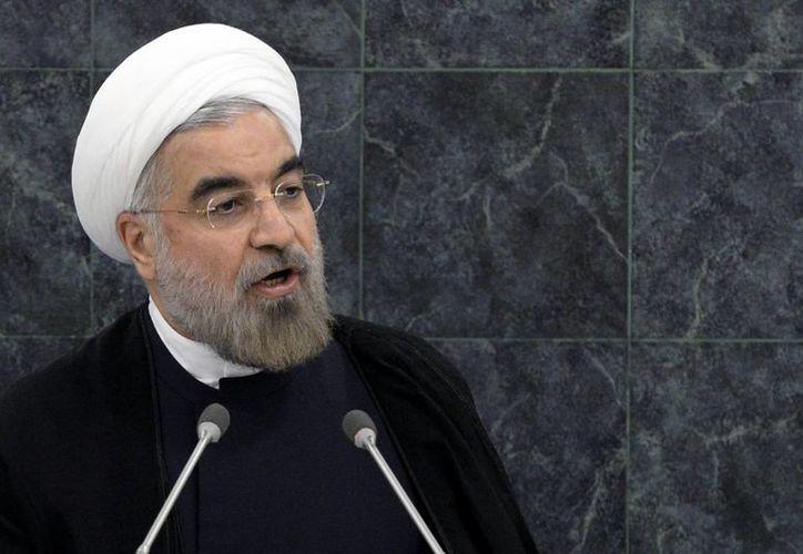 Aseguran que Ruhani 'engañó al mundo' ante la ONU. (Agencias)