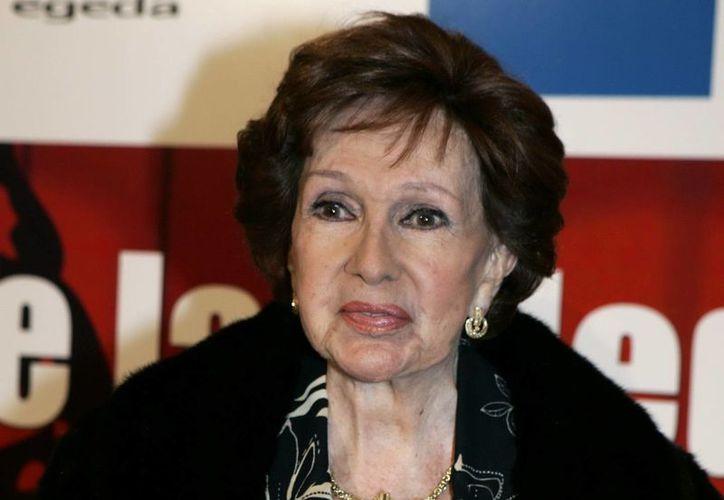 """En España y en 2006 Amparo Rivelles se retiró de los escenarios con el montaje de """"La Duda"""". (EFE/Archivo)"""