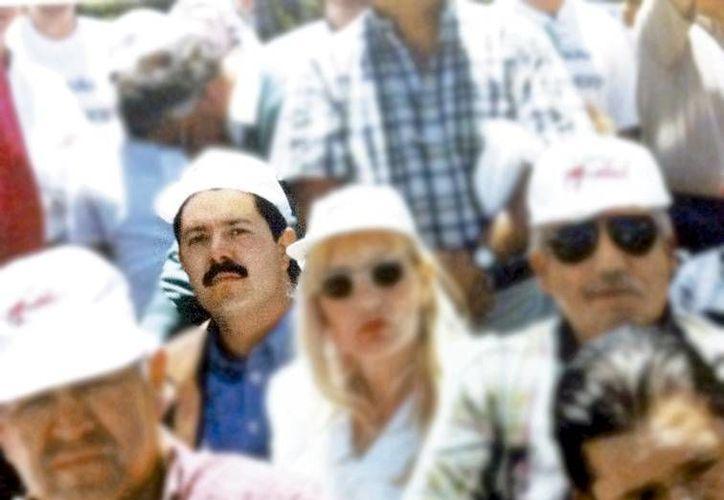 Magallón Gudiño (de bigote) fue secuestrado el 18 de enero de 2011 en el Estado de México. (Milenio)