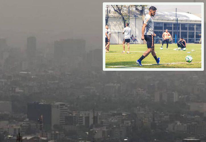 La contaminación movió la semifinal que se jugaría en la Ciudad de México y aunque en León no hay serios problemas ambientales, la vuelta tendrá que jugarse ahí en domingo. (Foto: Especial)