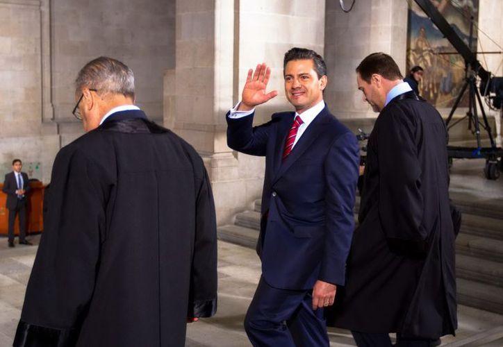 Amnistía Internacional considera que Enrique Peña Nieto puede hacer más por los derechos humanos. (Archivo/Notimex)