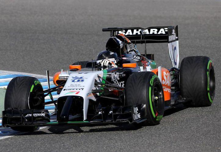 Pérez partirá este domingo desde la posición 18 en el GP de España. (Foto: Archivo/Jam Media)