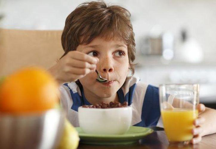 Los investigadores detectaron que los niños que no desayunaron diariamente, como debe ser, sufrieron deficiencias de hierro, calcio y yodo. (Contexto/Internet)