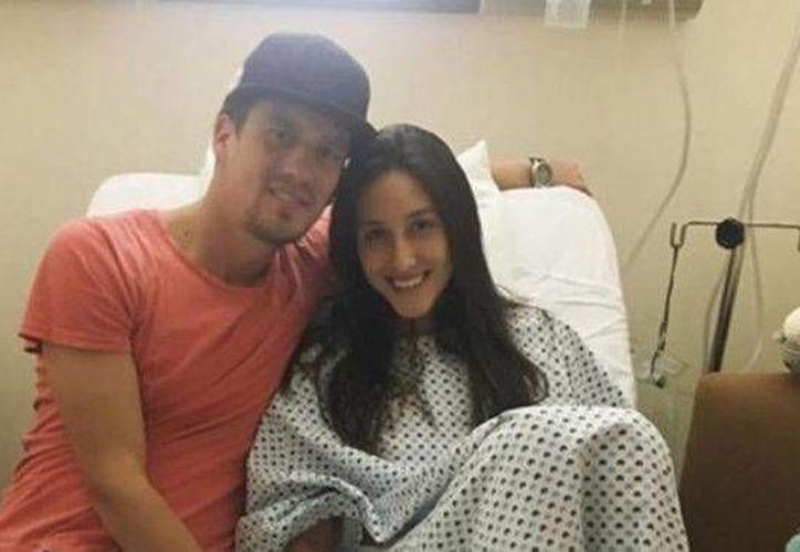 La nadadora mexicana Fernanda Armenta, exseleccionada nacional, fue baleada en la Ciudad de México hace unos días. Ahora se muestra bastante recuperada. (Facebook Fernanda Armenta)