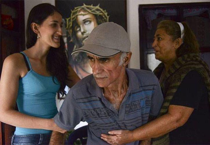 John Jairo es uno de los habitantes de Yarumal que sufre Alzheimer. (Raúl Arboleda/AFP)