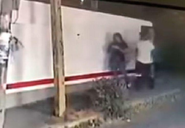 La mujer no pudo defenderse del ataque. (Internet)