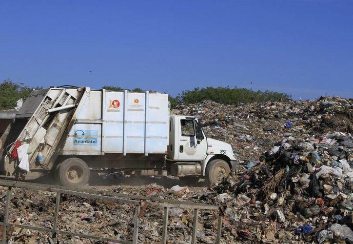 La cantidad de basura recolectada al día es de aproximadamente 300 toneladas. (Ángel Castilla/SIPSE)