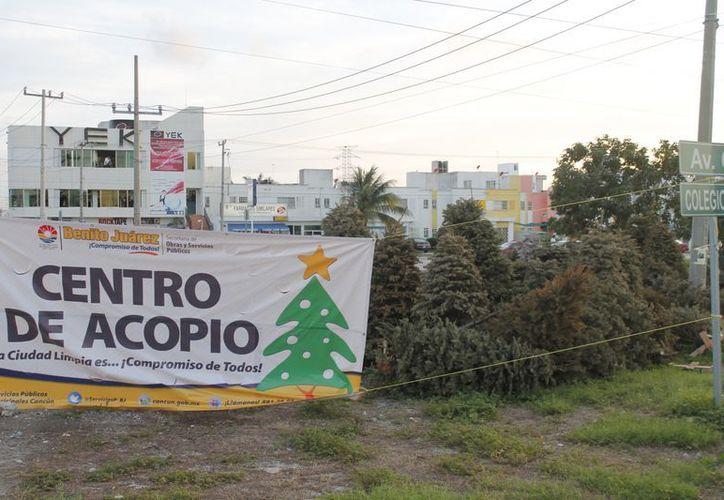 El programa inició el 6 de enero y terminará el 15 de febrero. Para este año hay 40 centros de acopio; en 2012 se colocaron 33. (Jesús Tijerina/SIPSE)