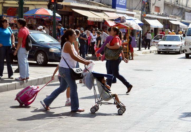 El calor se mantiene durante el día en la capital yucateca. (SIPSE)
