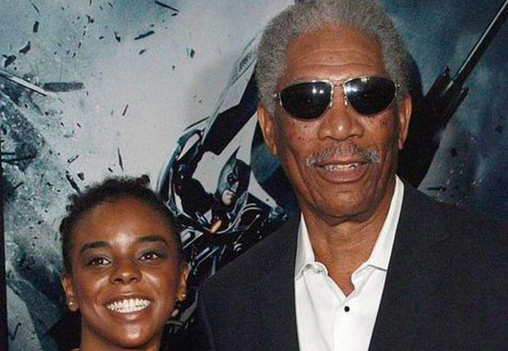 E'Dena Hines, nietastra del actor Morgan Freeman, fue víctima de Lamar Davenport, según la información de la policía. (ok.oc.uk)